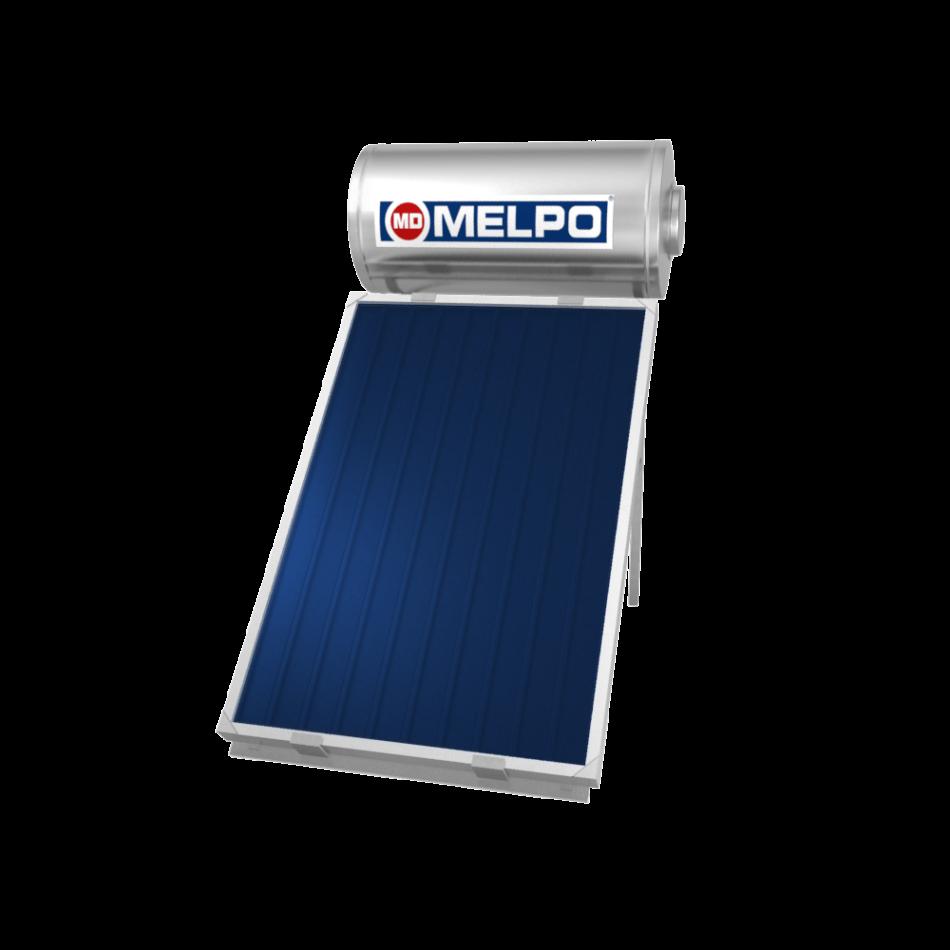 MELPO SOLAR MS120/1,5 m² Ηλιακός Θερμοσίφωνας EXTRA GLASS 120lt