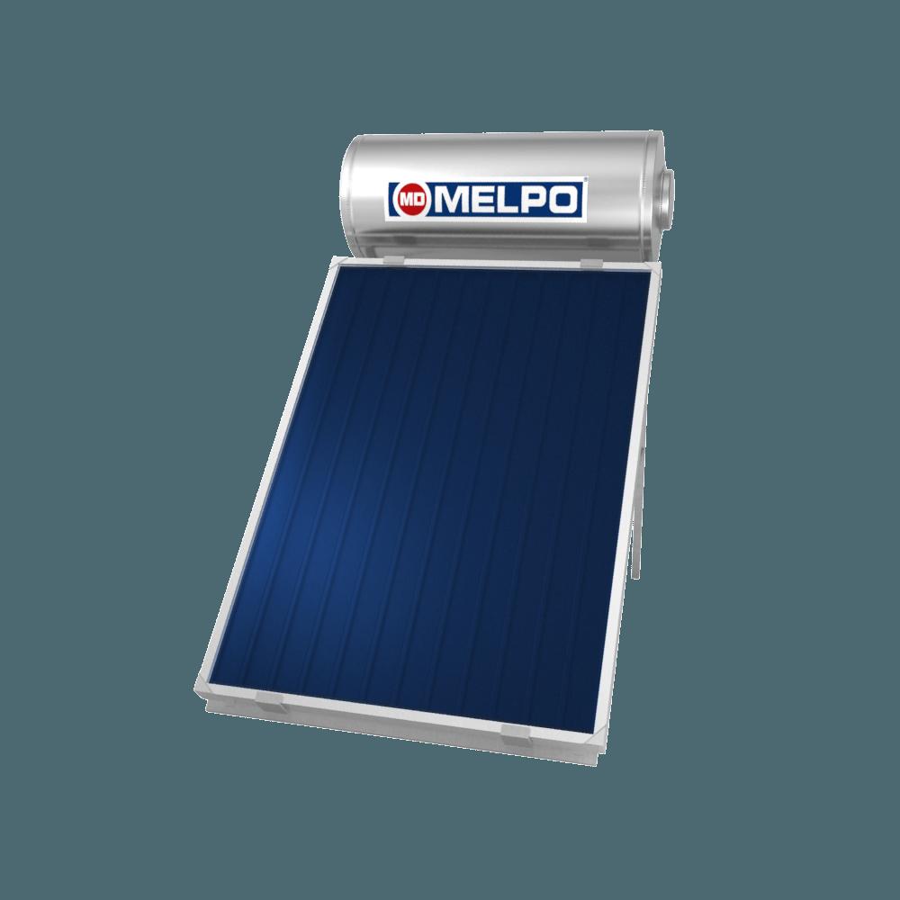 MELPO SOLAR MS160/2,3m² Ηλιακός Θερμοσίφωνας EXTRA GLASS 160lt