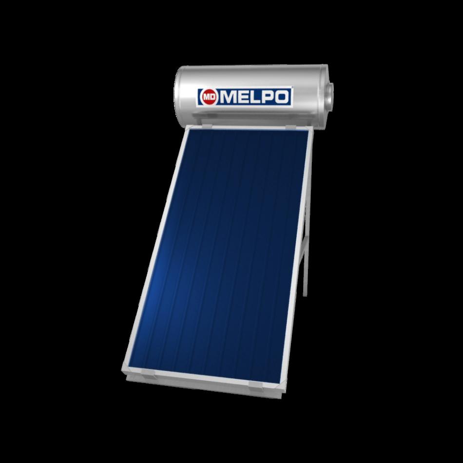 MELPO SOLAR MS160/2,0m² Ηλιακός Θερμοσίφωνας EXTRA GLASS 160lt