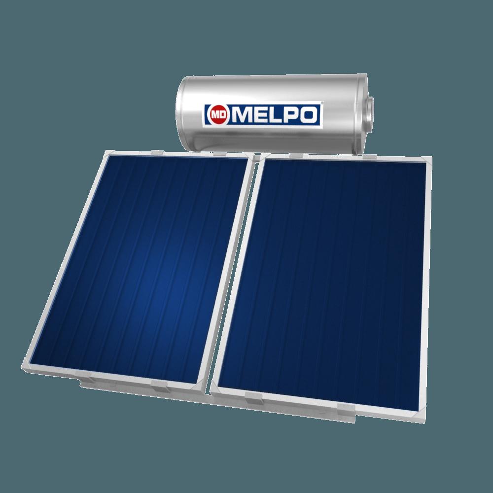 MELPO SOLAR MS180/3,0m² Ηλιακός Θερμοσίφωνας EXTRA GLASS 180lt