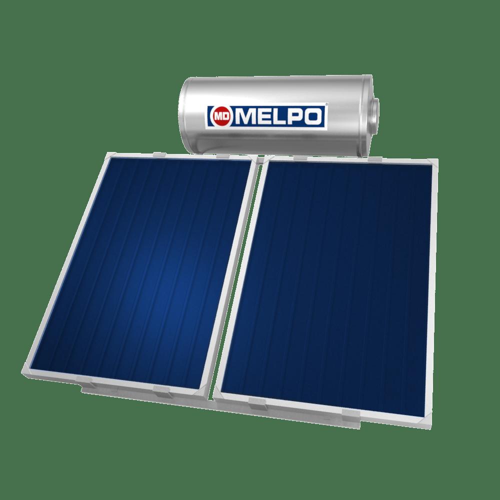 MELPO SOLAR MS160/3,0m² Ηλιακός Θερμοσίφωνας Extra Glass 160lt