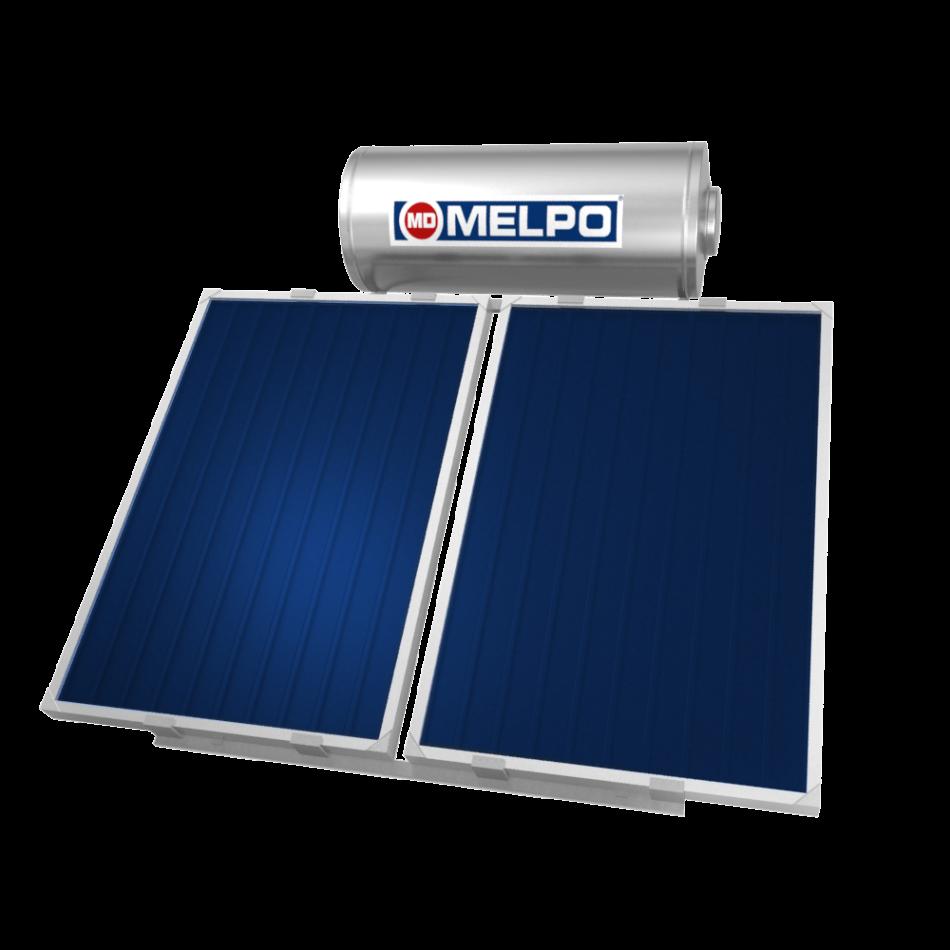 MELPO SOLAR MS200/3,0m² Ηλιακός Θερμοσίφωνας EXTRA GLASS 200lt