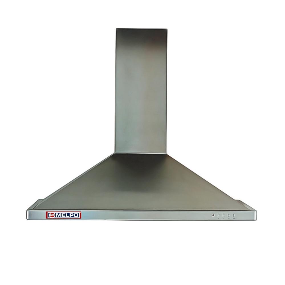 Απορροφητήρας Κουζίνας MELPO-ΜΚ Καμίνι DEL90 Inox Ανοξείδωτος 90cm