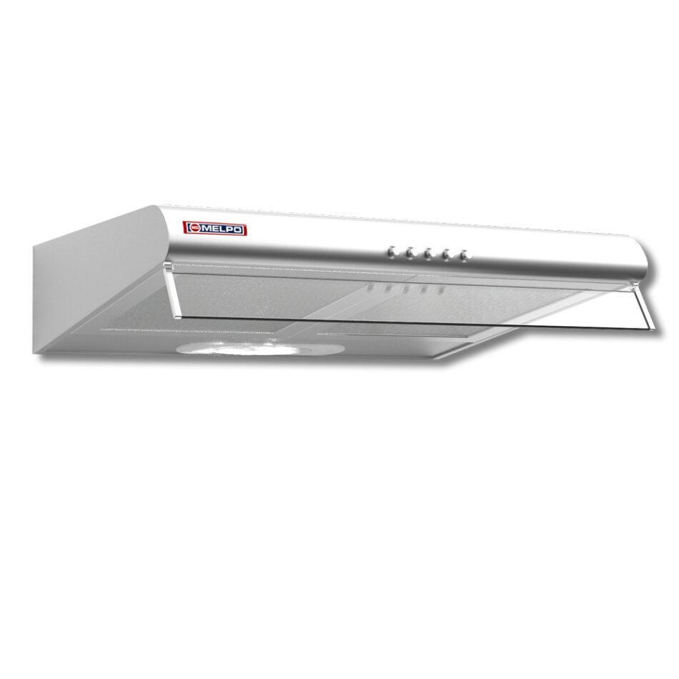 Απορροφητήρας Κουζίνας MELPO ME-S Ελεύθερος Λευκός 60cm 2 Μοτέρ 460m3/h κυβικά/ώρα